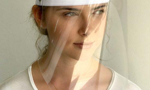 Gesichtsvisier Schutz Gesichtschutz Spuckschutz